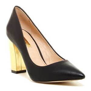 Louise et Cie | Jenny Pump | Black-Gold